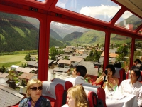 панорамный поезд, Swiss Travel System, soleanstour