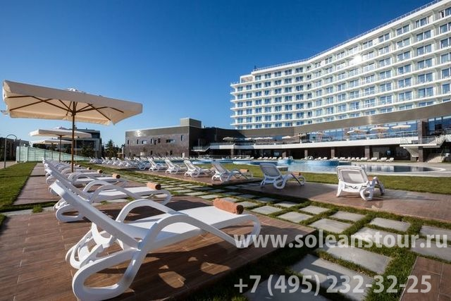 Отель Radisson Blu Paradise Resort & Spa Sochi 5*