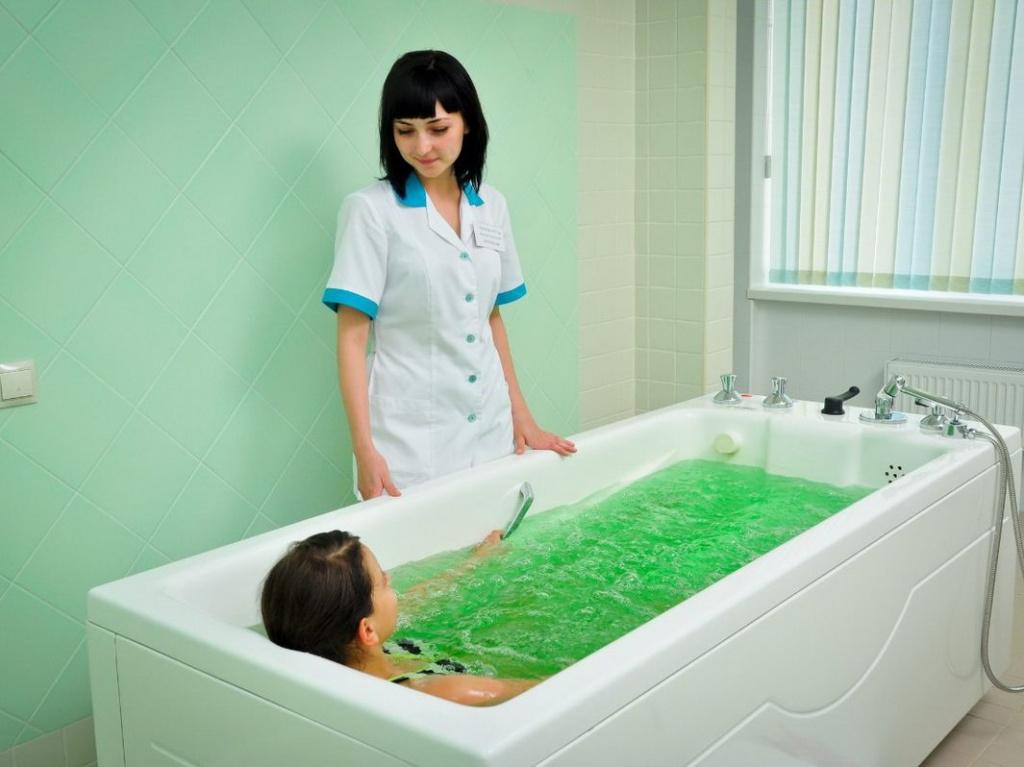 Лечебные минеральные ванны Кавминводы
