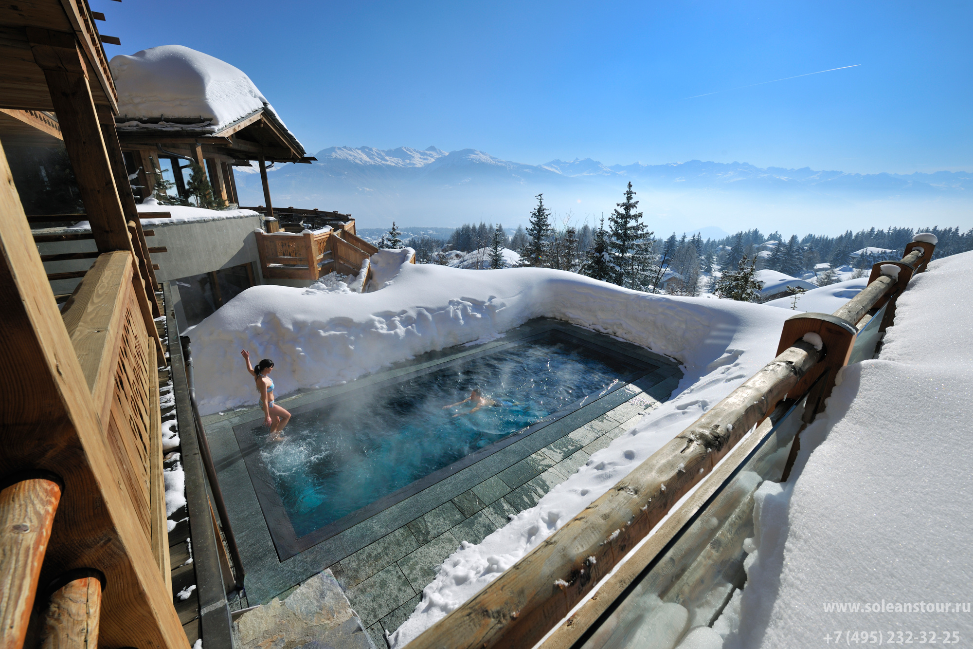 LE CRANS HOTEL and SPA 5*